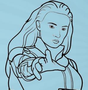 как нарисовать Джин Грей 10
