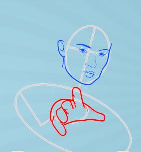 как нарисовать Джин Грей 5