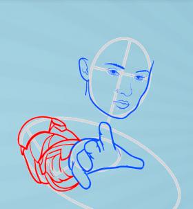 как нарисовать Джин Грей 6
