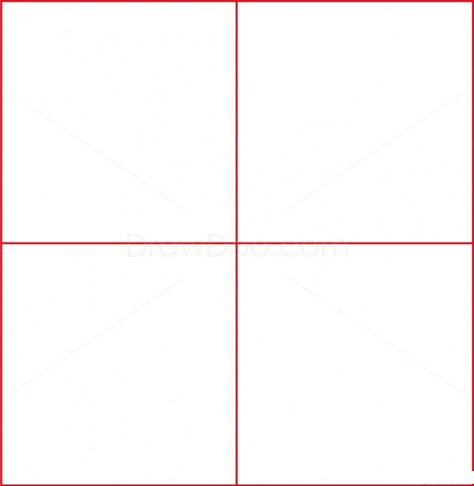 Как нарисовать логотип Барселоны 1