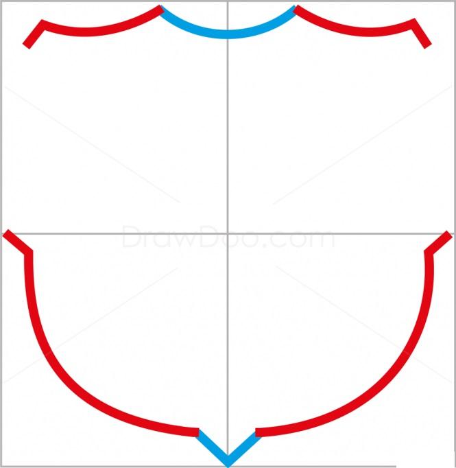 Как нарисовать логотип Барселоны 3