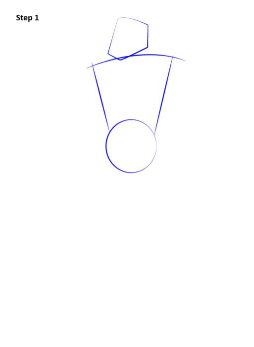 Как нарисовать Сайракса из Мортал Комбат 1