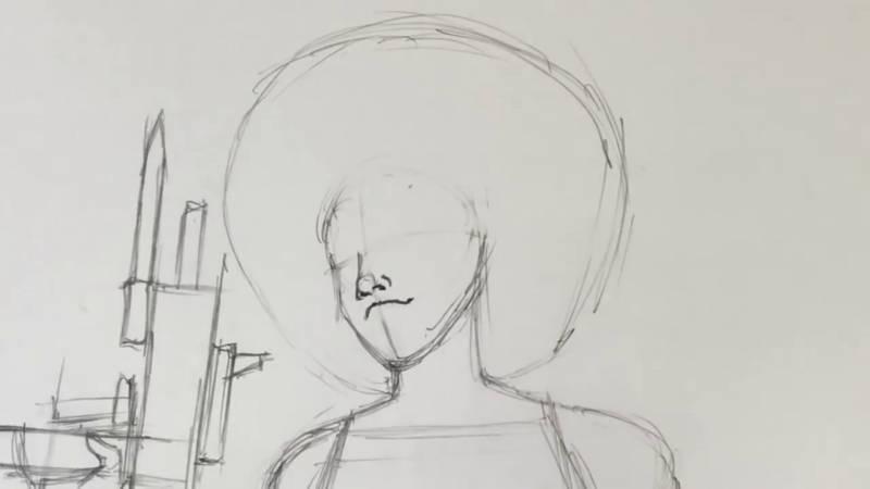 Как нарисовать Домино из Дедпула 11