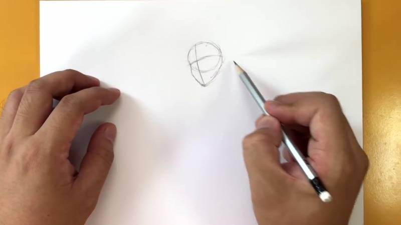 Как нарисовать Домино из Дедпула 2
