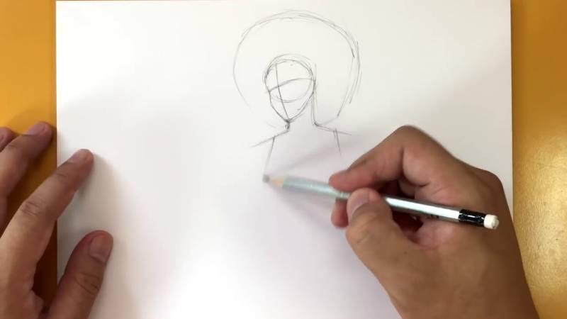 Как нарисовать Домино из Дедпула 3