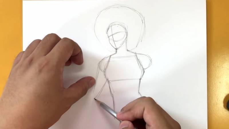 Как нарисовать Домино из Дедпула 4
