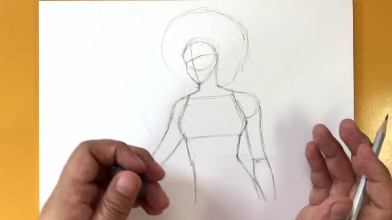 Как нарисовать Домино из Дедпула 5