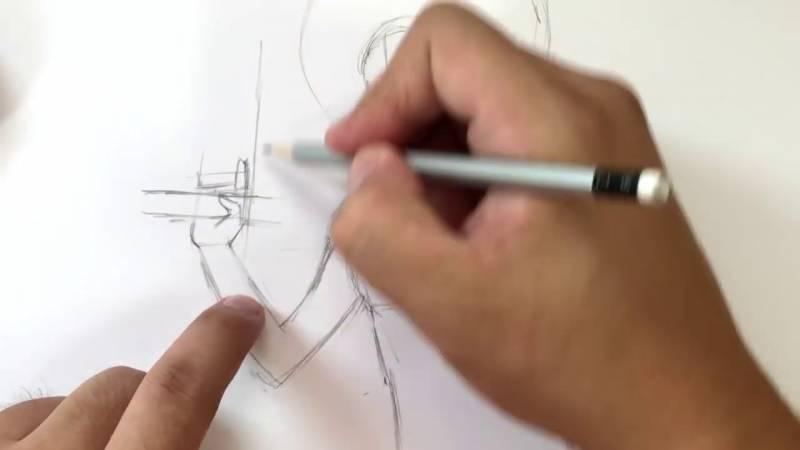 Как нарисовать Домино из Дедпула 7