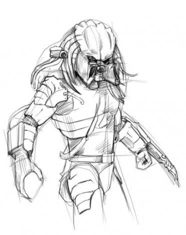 Как просто нарисовать Хищника 3