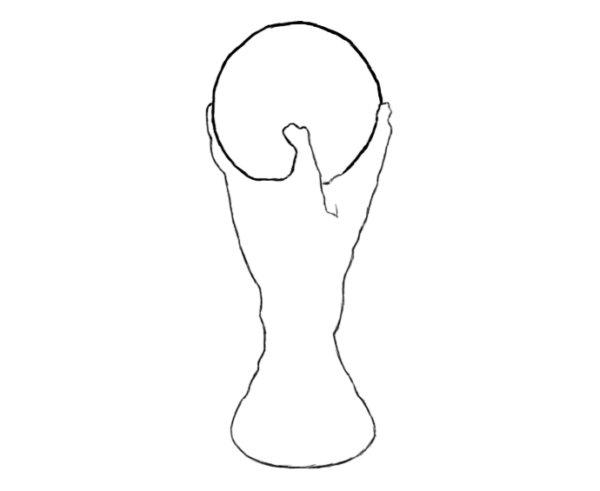 Как нарисовать Кубок мира 2