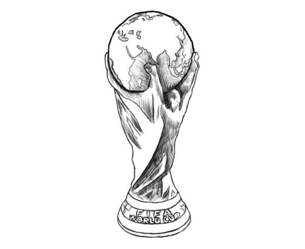 Как нарисовать Кубок мира 7