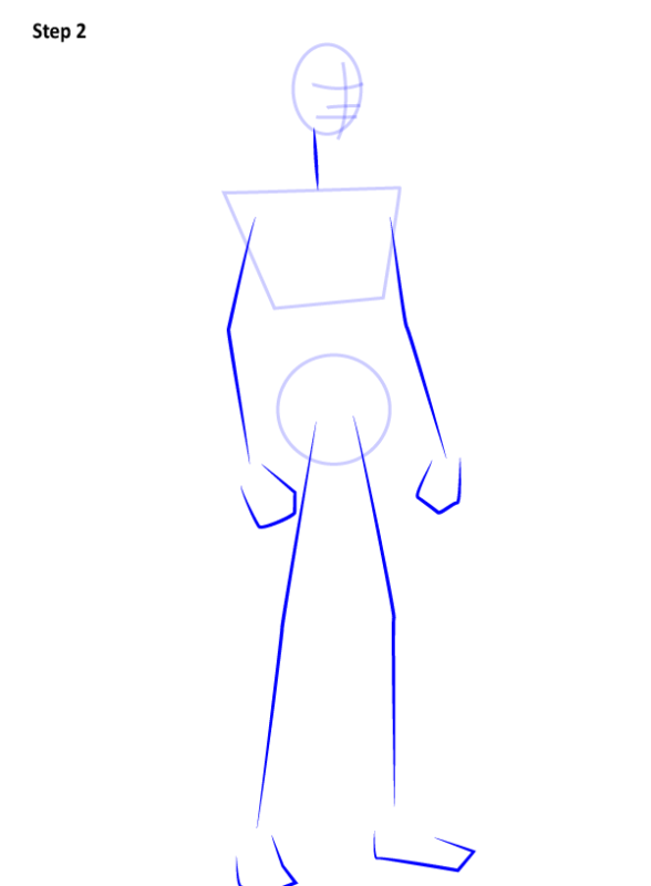 Как нарисовать Найтвинга из комиксов 2