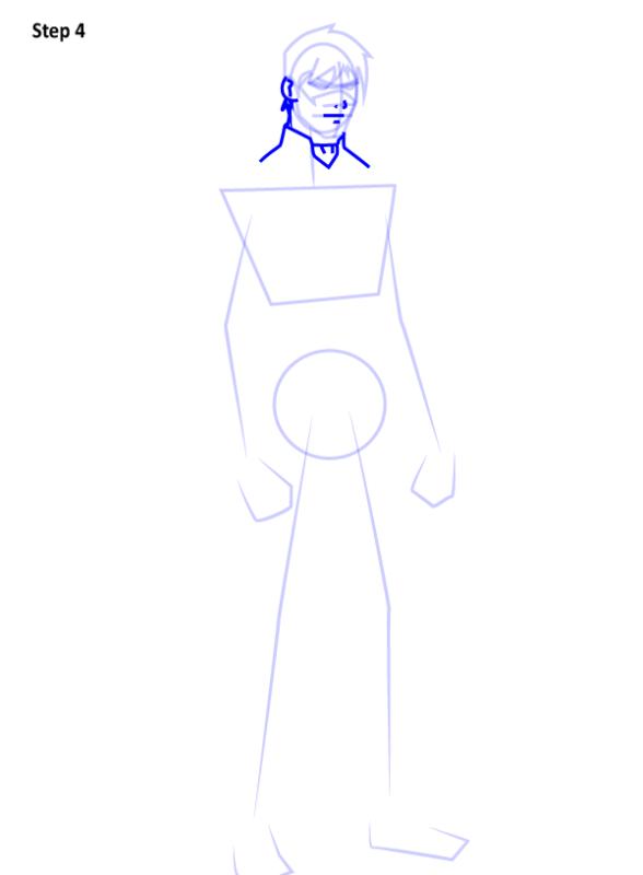 Как нарисовать Найтвинга из комиксов 4