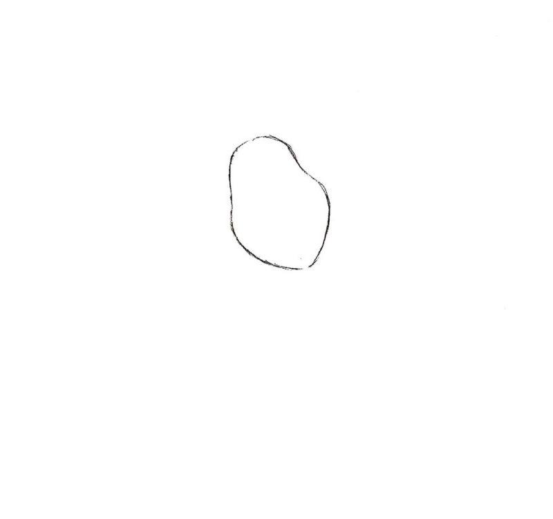 Как нарисовать Пятачка из мультфильма 1