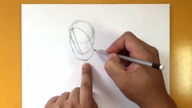Рисунок Призрака из Человек муравей и Оса 2