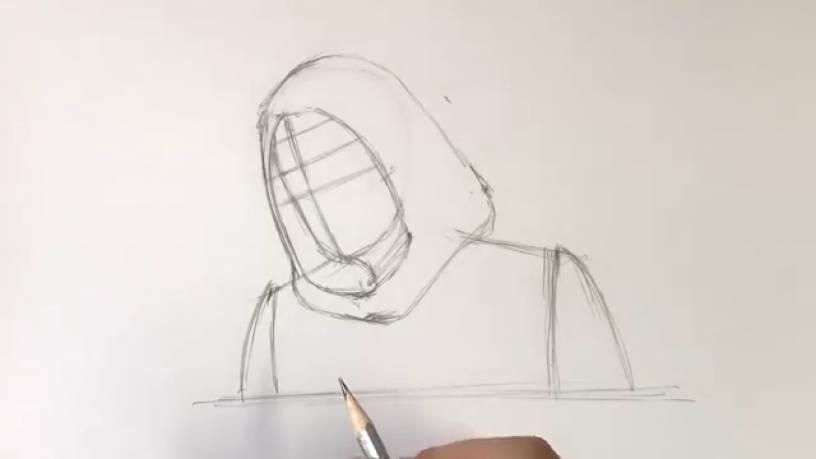 Рисунок Призрака из Человек муравей и Оса 5