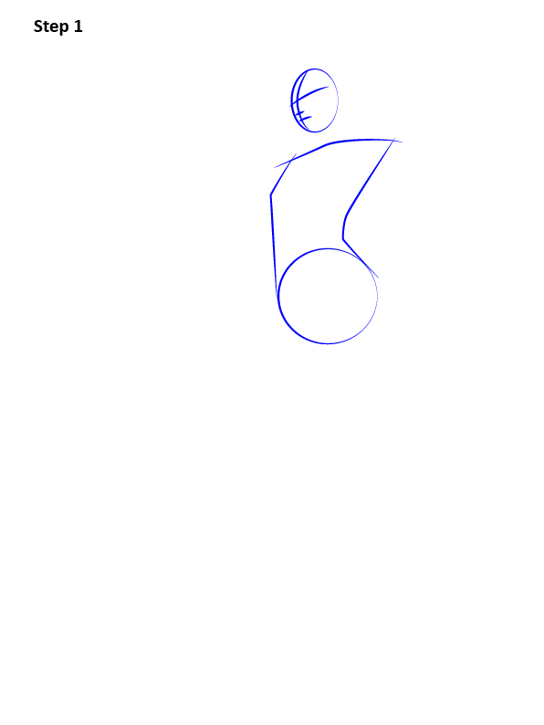 Как нарисовать Роковую вдову 1