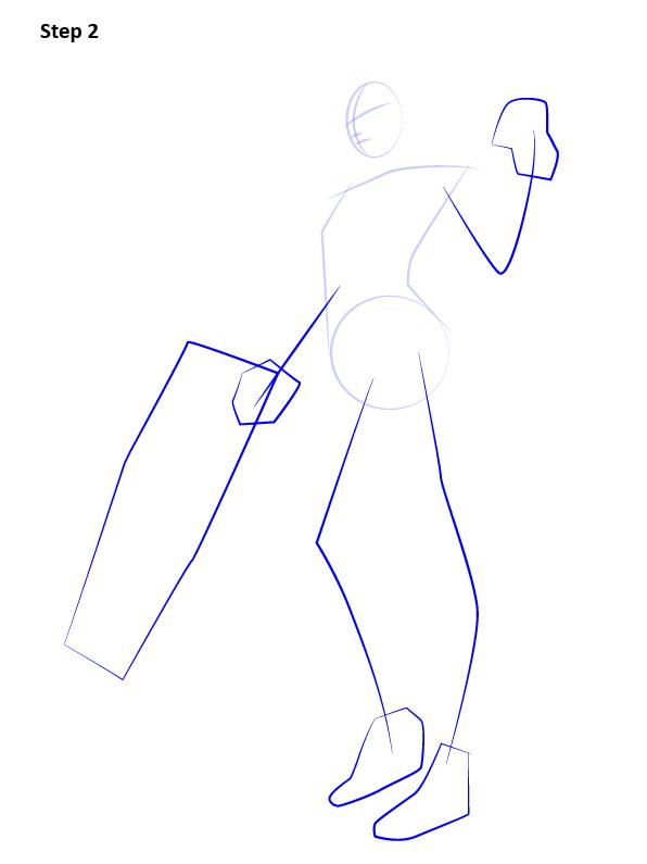 Как нарисовать Роковую вдову 2