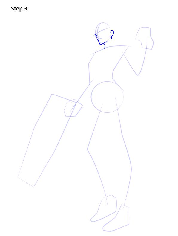 Как нарисовать Роковую вдову 3