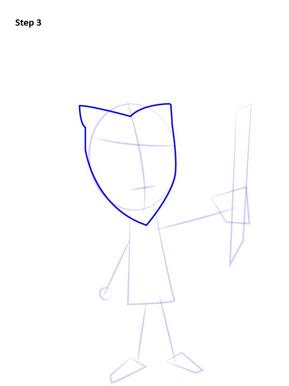 Как нарисовать Уилсона из Don't Starve 3