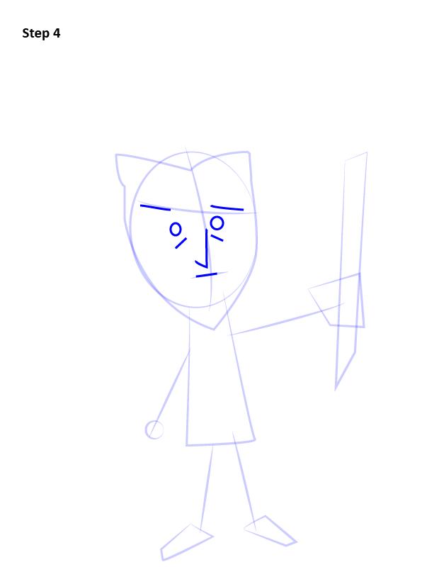 Как нарисовать Уилсона из Don't Starve 4