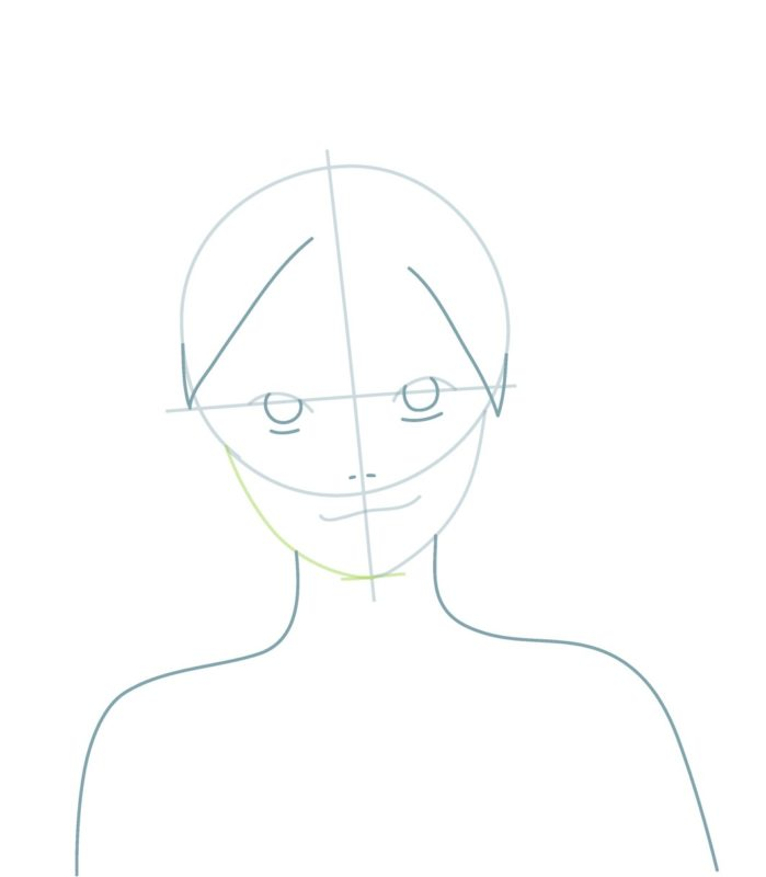 Как нарисовать Боруто 3