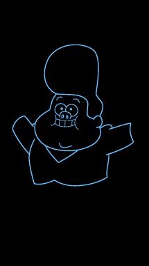 Как нарисовать малыша Гидеона7