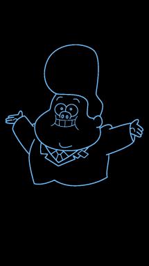 Как нарисовать малыша Гидеона9