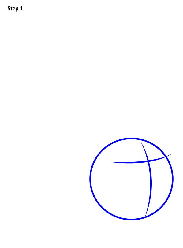 Как нарисовать Золотой снитч 1