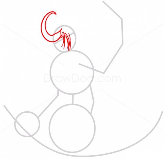 как нарисовать Иллидана2