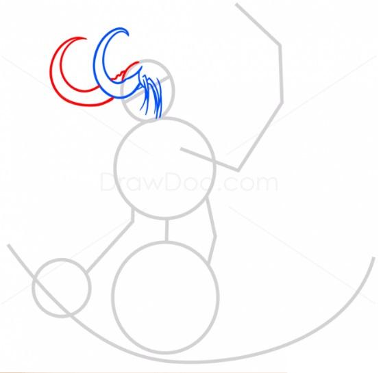 как нарисовать Иллидана3