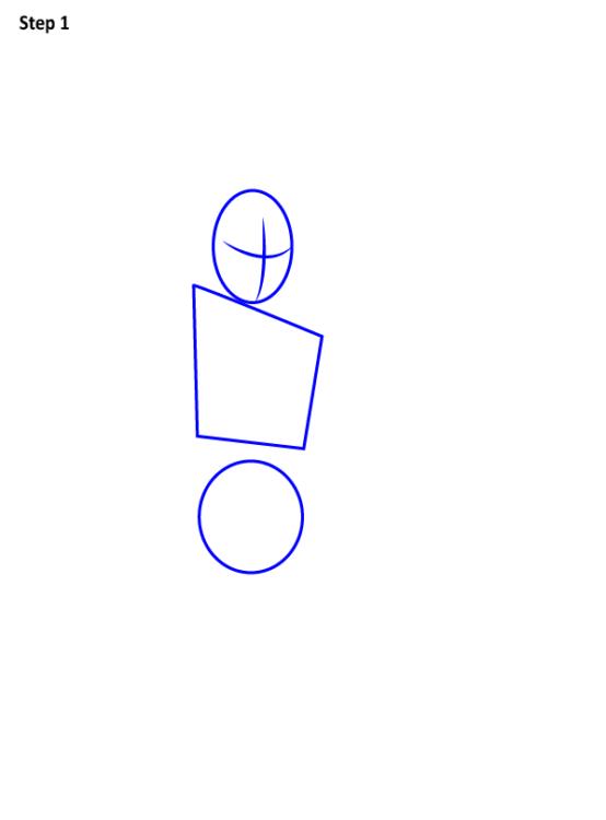 Как нарисовать Железного паука 1