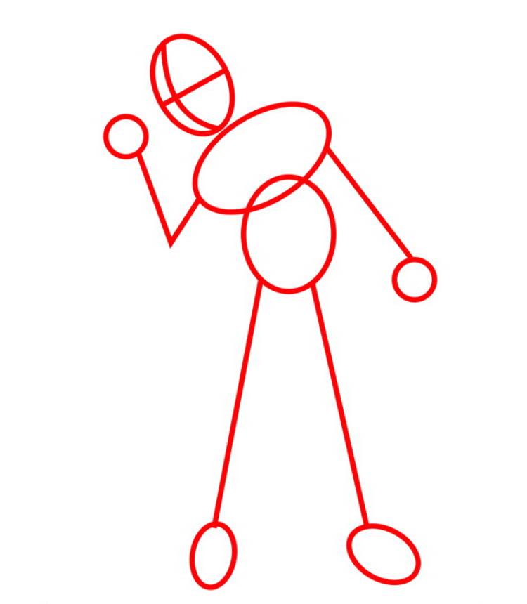 Как нарисовать Кид Флеша 1
