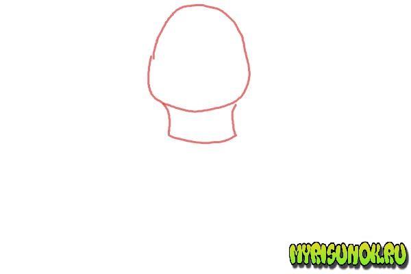 Как нарисовать Леонардо черепашку 01