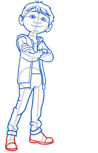 Как нарисовать Мигеля из Тайна Коко 10