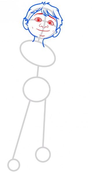Как нарисовать Мигеля из Тайна Коко 4