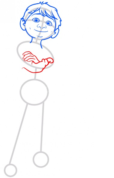 Как нарисовать Мигеля из Тайна Коко 5