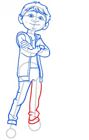Как нарисовать Мигеля из Тайна Коко 9