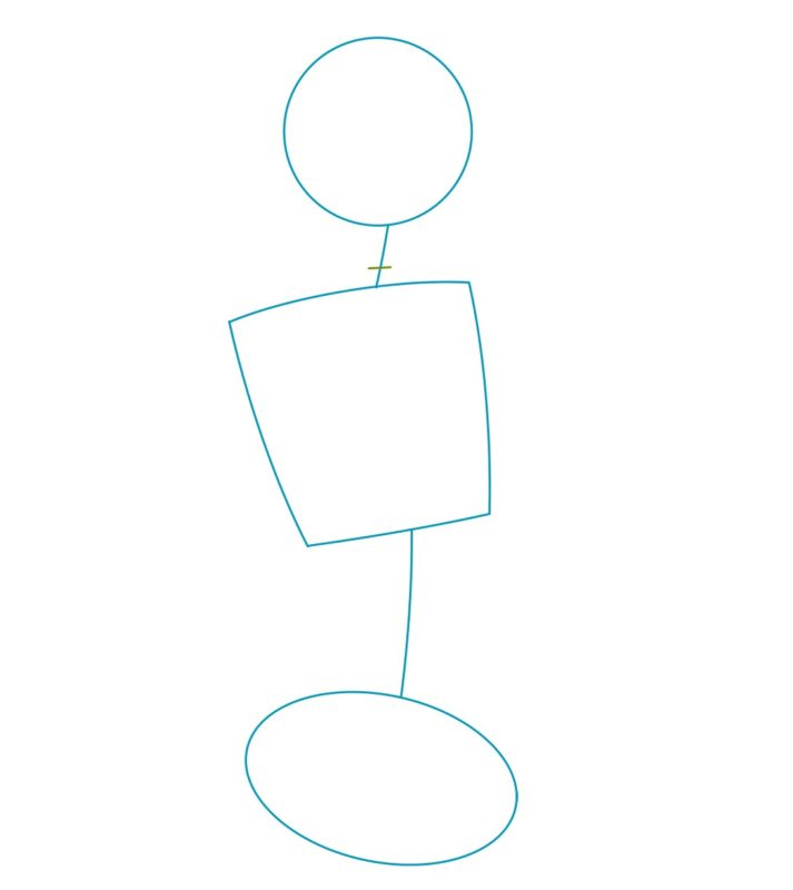 Как нарисовать Нами из One Piece 1