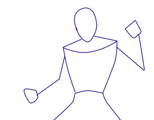 Как нарисовать Шреддера из черепашек1