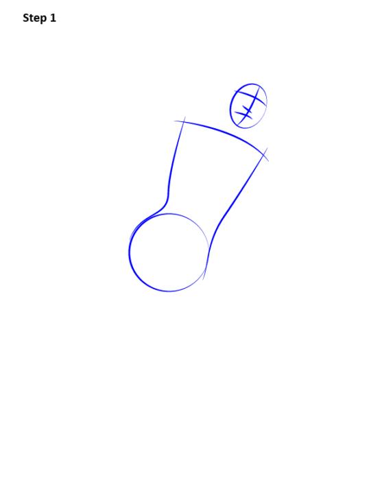 Как нарисовать Супергерл1