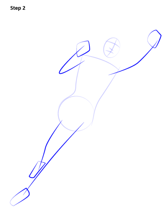 Как нарисовать Супергерл2