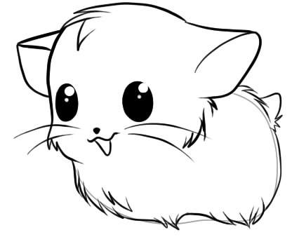 Как нарисовать хомяка4