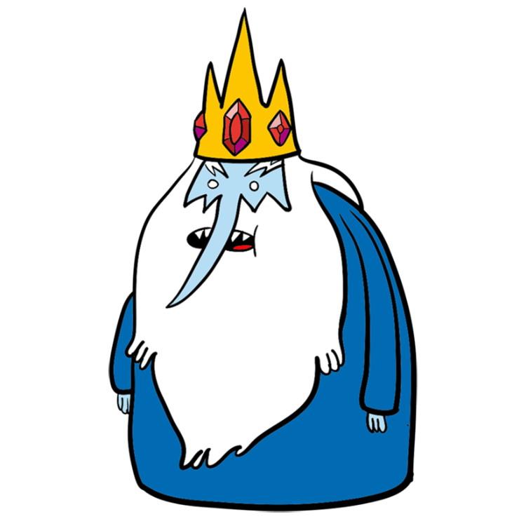 Как нарисовать Ледяного короля из Время приключений 10