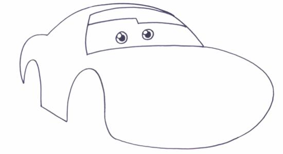 Как нарисовать МакКуина 2