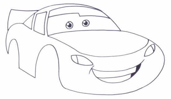 Как нарисовать МакКуина 3