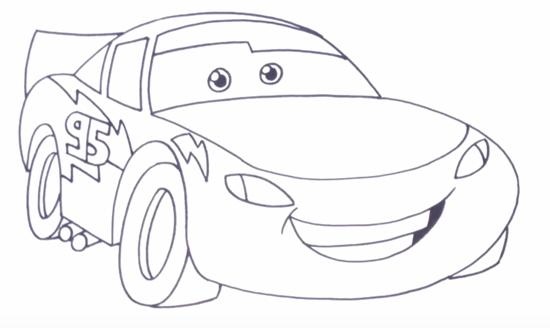 Как нарисовать МакКуина 4