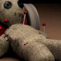 Рисуем куклу вуду на Хеллоуин