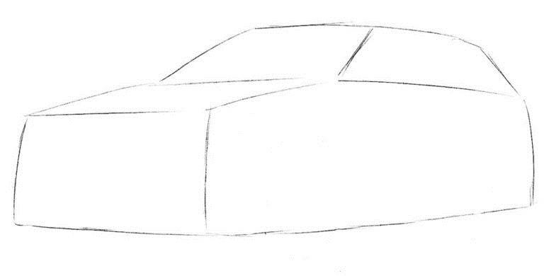 Рисуем BMW X5 1