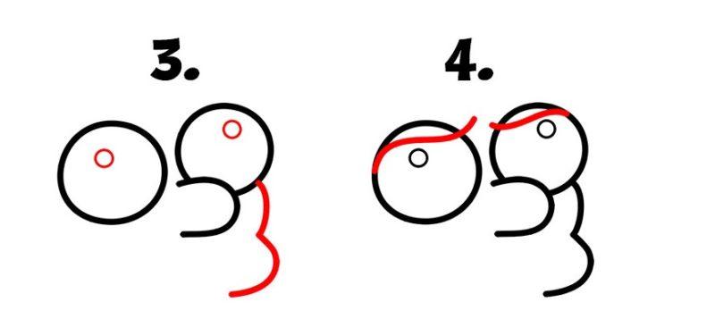 как нарисовать принцессу Бин2